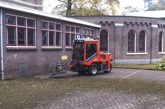 Groenbeheer onderhoud parkeerplaatsen
