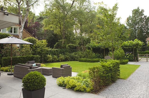 Aanleg tuin museum voorlinden hoveniersbedrijf koninklijke