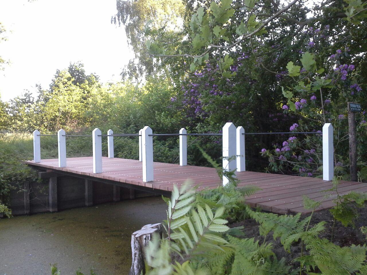 Restauratie brug landgoed Vollenhoven 2