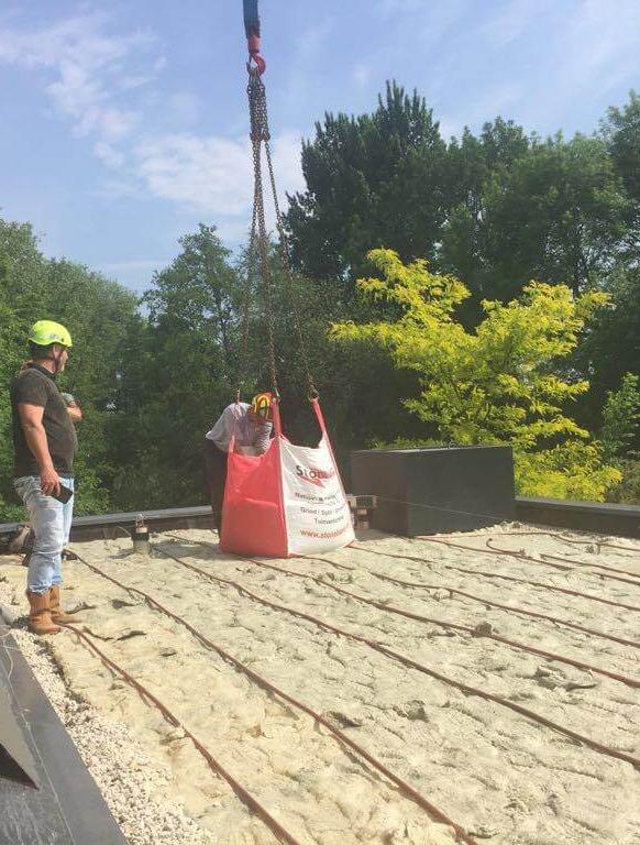 Hoefakker buitenruimte groene daken Claris Zorgvilla Steinenburgh De Bilt (1) m
