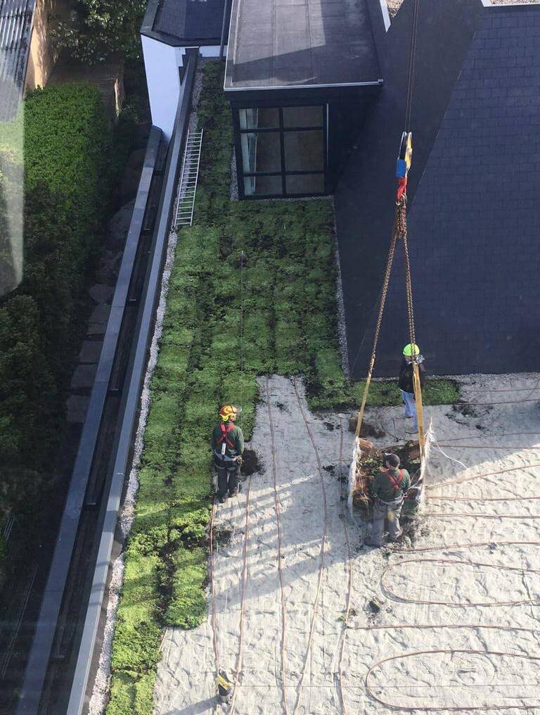 Hoefakker buitenruimte groene daken Claris Zorgvilla Steinenburgh De Bilt (4) m