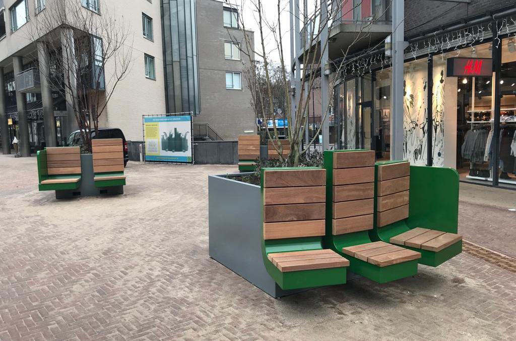 Selectie Hoefakker buitenruimte meubilair en boombakken (4) m