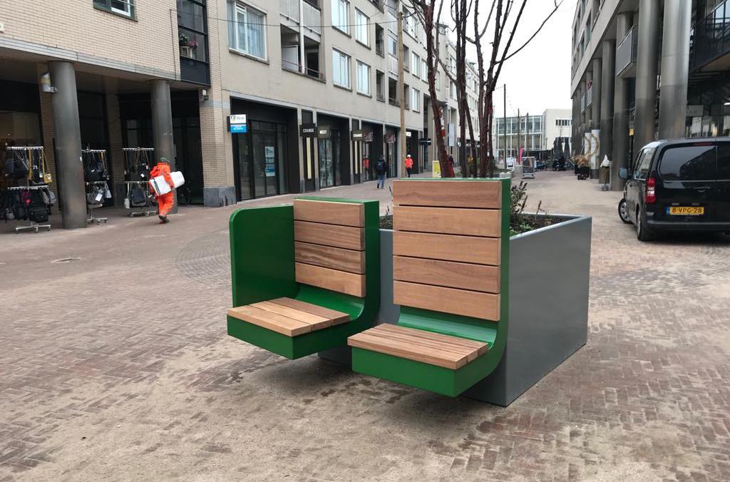 Selectie Hoefakker buitenruimte meubilair en boombakken (5) m