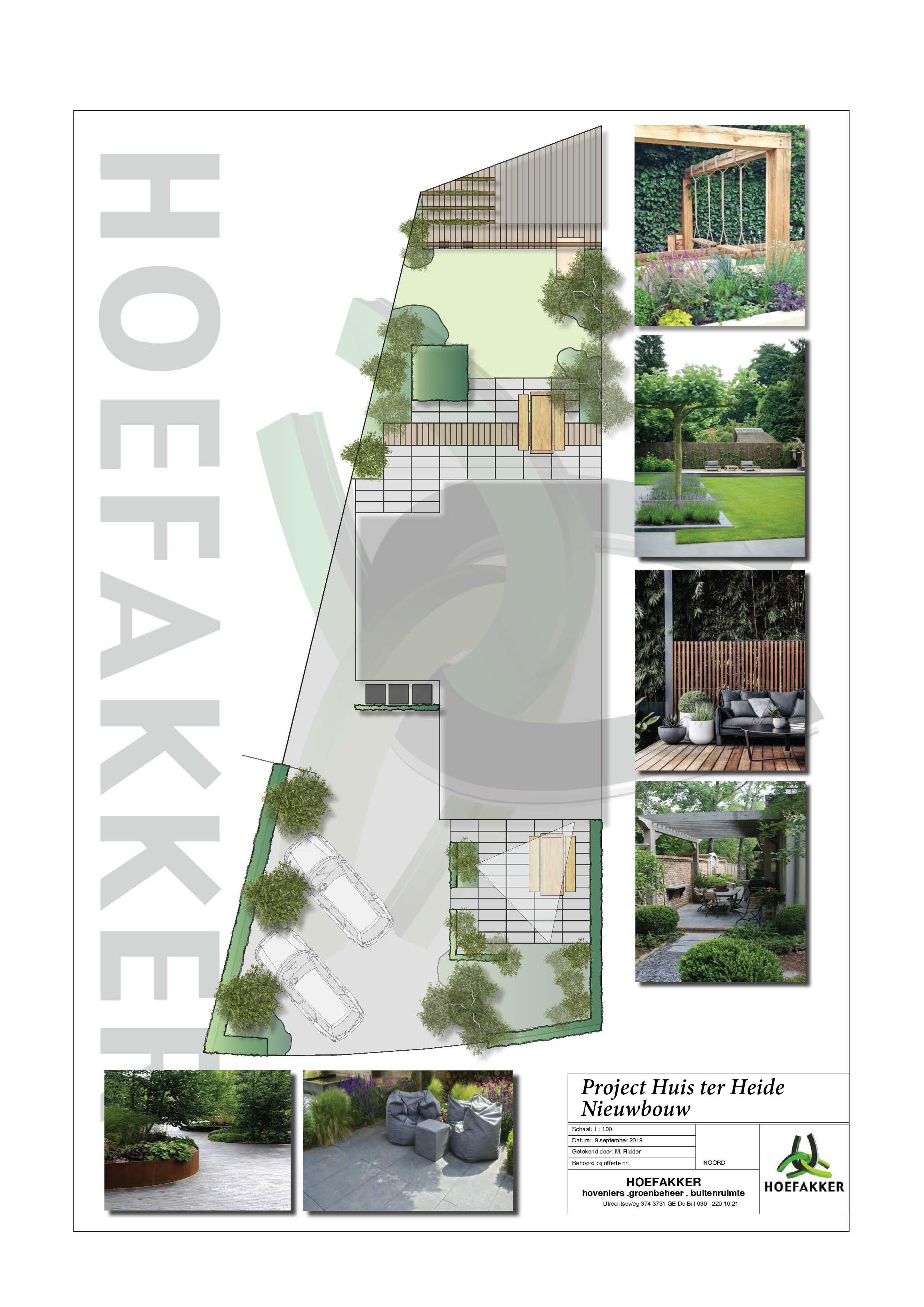 Hoefakker Hoveniers Tuinontwerp Project Huis ter Heide nieuwbouw