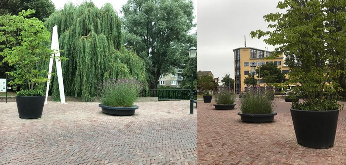 Happy Tree project Amersfoort Kwekersbrug en Kamperbuitenpoort