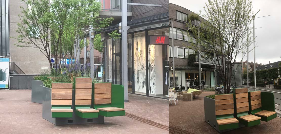 Happy Tree project Zeist Emmaplein
