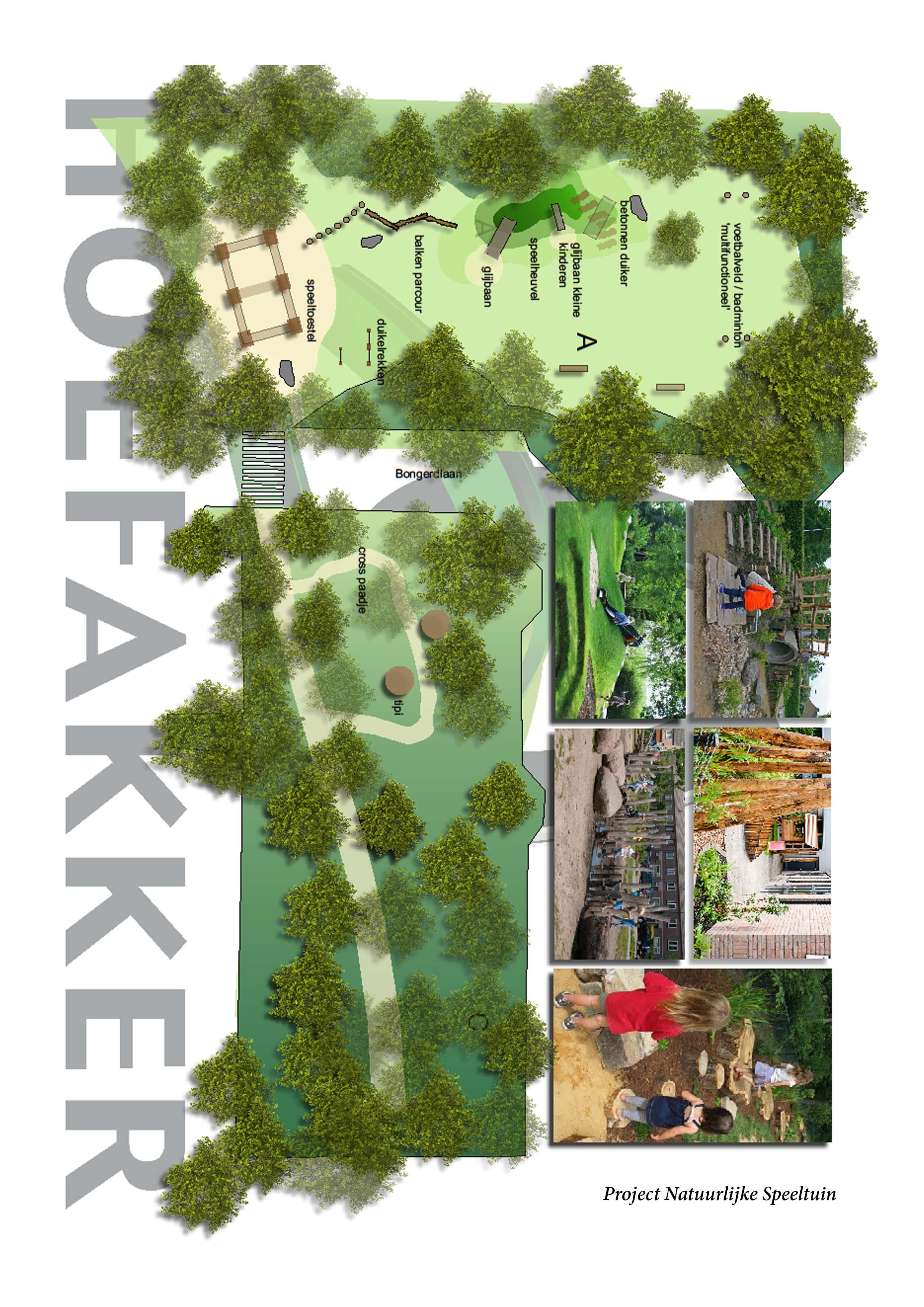 Hoefakker Hoveniers Ontwerp natuurlijke speeltuin